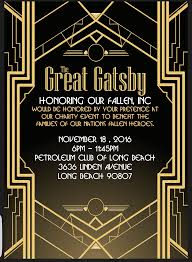 tickets for the great gatsby honoring our fallen ball in long