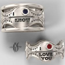 his and hers ring set his and hers wars ring set