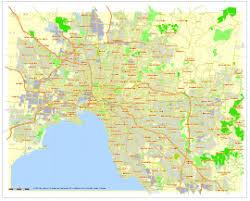 Councils Of Melbourne Map Melbourne