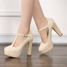 wedding shoes pumps ivory lace heels t wedding shoes chunky heel pumps for