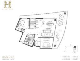Residence Floor Plans Floor Plans Of Hyde Hollywood Condo