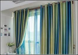 Blue Striped Curtains Green Striped Curtains Scalisi Architects