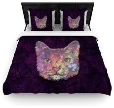Duvet Cover Purple Ancello