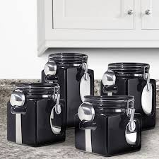 black and white kitchen canisters 798 best kitchen canisters images on kitchen canisters