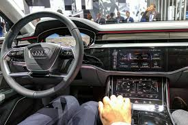audi audi u0027s a8 is a declaration of war on buttons but now the battle