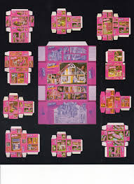 printable barbie house furniture vintage barbie boxes printable for doll s house inspired in 1981