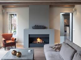 modern indoor fireplace designs complete with traditional leather