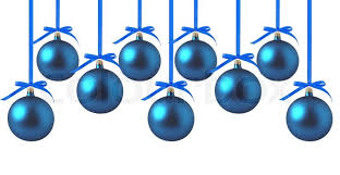 white and blue bows blue christmas balls with bows on white background stock photo