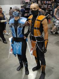 Mortal Kombat Scorpion Halloween Costume File Anime Expo 2010 La Scorpion Mortal