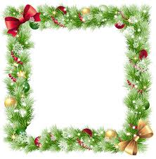 png frame with ornaments and snowflakes gallery