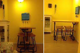 Yellow Bar Table Bar Lock Picture More Detailed Picture About Bar Tables Iron