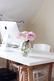 White And Pink Desk by 140 Best Home Work Space Images On Pinterest Office Spaces