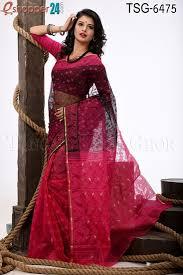 bangladeshi jamdani saree online silk jamdani saree tsg 6475 online shopping in bangladesh for men