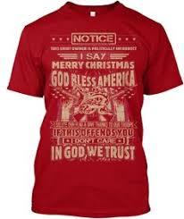 i say merry god bless t shirt