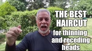 best haircut for receding u0026 thinning hair read description below
