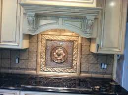 kitchen backsplash metal medallions kitchen 19 best kitchen backsplash tile plaque medallion metal