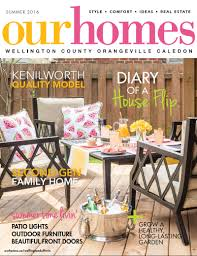 Beautiful Homes Magazine Brother And Sister Duo Flip A Bungalow In Guelph Our Homes Magazine