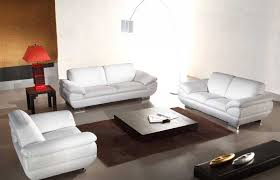 Leather Sofas Online Fascinating Leather White Sofa Rooms To Go Reina White Leather