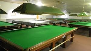 3 in one pool table upstairs snooker tables which houses 7 full size and one 3 4 size