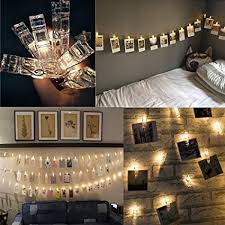 string lights with clips led photo clips string lights with 20 clips battery operated fairy