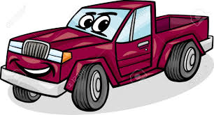 jeep cartoon drawing cartoon illustration of funny pick up or pickup car vehicle comic