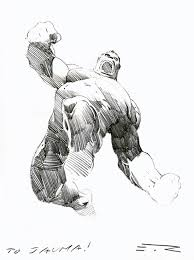 esad ribic hulk sketch art pinterest sketches comic and