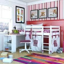 lit bureau pas cher lit bureau enfant lit enfant mezzanine cargo blanc 3