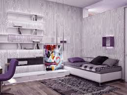bedroom decoration interior stunning small bedroom purple wall