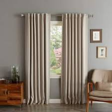 Smocked Burlap Curtains 120 Inches Curtains U0026 Drapes Shop The Best Deals For Dec 2017