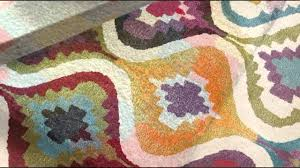 tapis boule feutre tapis multicolore en laine et viscose love par ligne pure youtube