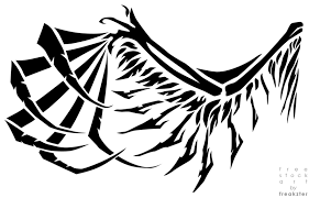 stylized wing design by freakzter freebies on deviantart