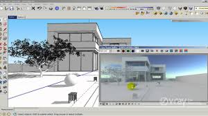 v ray for sketchup how to use hdri and sun settings tutorial