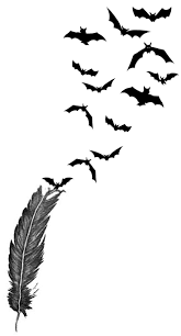 Halloween Flying Bats Bat Tattoo Images U0026 Designs