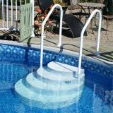 wedding cake steps above ground accessories snyder pools and spas