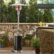 Outdoor Electric Heaters For Patios Patio With Metal Bench And Large Modern Heater Outdoor Patio