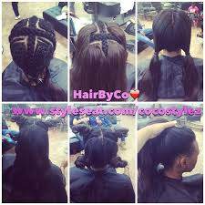 best wayto have a weave sown in for short hair vixen sew in by cocostylez out of roselle nj hair pinterest