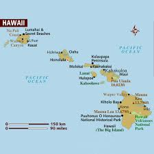 Maui Hawaii Map Which Of The Hawaiian Islands Suits You Best