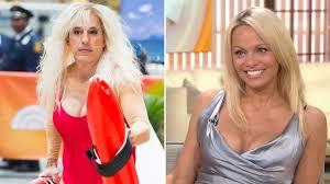 Baywatch Halloween Costume Pamela Anderson Reacts Matt Lauer Willie Geist U0027s U0027baywatch