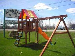 Playsets Outdoor Playsets And Swing Sets U2013 Amish Outlet U0026 Gift Shop