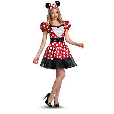Minnie Mouse Night Stand by Amazon Com Fun World Women U0027s Retro Miss Mouse Costume Clothing