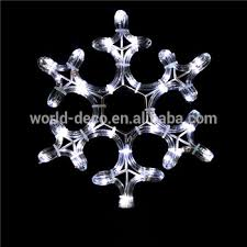 snowflake lights christmas window hanging snowflake lights christmas motif rope