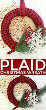 plaid christmas wreath frugal mom eh
