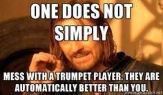 Trumpet Player Memes - trumpet memes trumpetmemes17 twitter