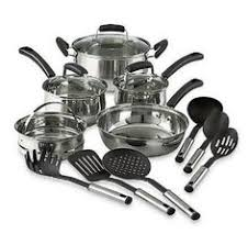black friday pots and pans set martha stewart collection copper accent cookware 12 piece set