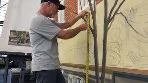 donald macdonald scenic artist donald macdonald painting street backing youtube