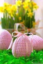 Crochet Easter Decorations Pinterest by Ravelry Flappergirl425 U0027s Spring Easter Wreath Crochet
