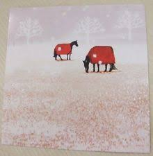 horse christmas cards ebay