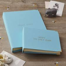 baby boy album baby girl or boy scrap book album by the chic country home