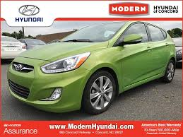 hyundai accent green green hyundai accent in carolina for sale used cars on