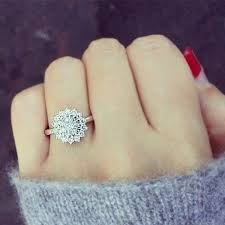 snowflake engagement ring engagement ring